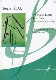 30 ETUDES D'APRES J.S. BACH Volume 2