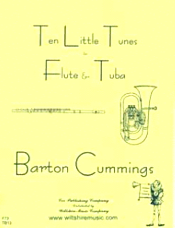 10 LITTLE TUNES for Flute & Tuba