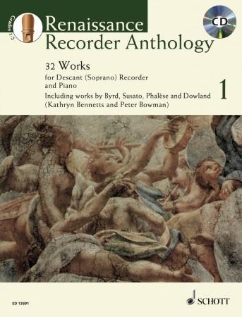 RENAISSANCE RECORDER ANTHOLOGY Volume 1 + CD