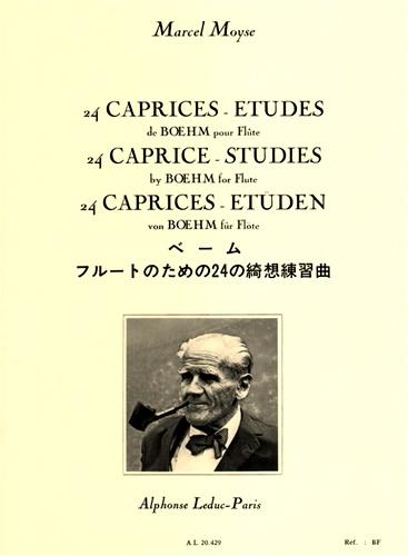 24 CAPRICES ETUDES de Boehm Op.26