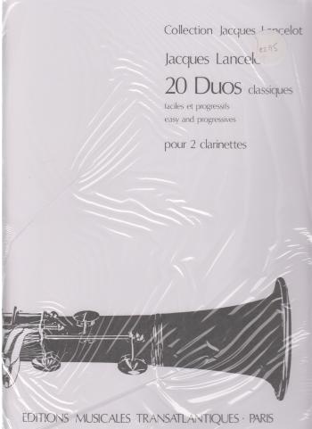 20 DUOS CLASSIQUES easy and progressive