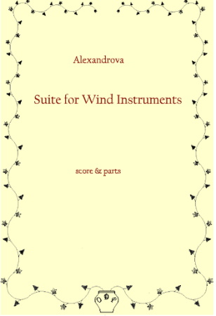 SUITE FOR WIND INSTRUMENTS (score & parts)
