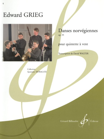 NORWEGIAN DANCES Op.35 (score & parts)