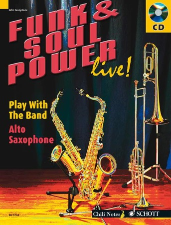 FUNK & SOUL POWER LIVE! Play With The Band + CD