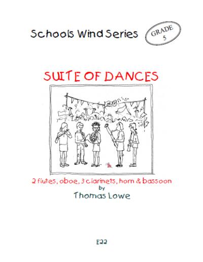 SUITE OF DANCES (score & parts)