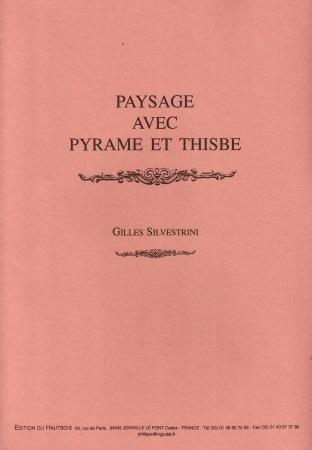PAYSAGE AVEC PYRAMUS ET THISBE