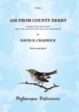 AIR FROM COUNTY DERRY (score & parts)