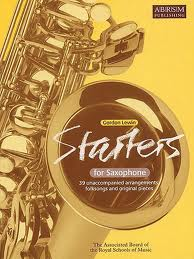 STARTERS FOR SAXOPHONE