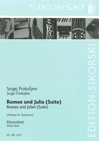 ROMEO AND JULIET Suite (score & parts)