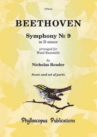 SYMPHONY No.9 in D minor (score & parts)