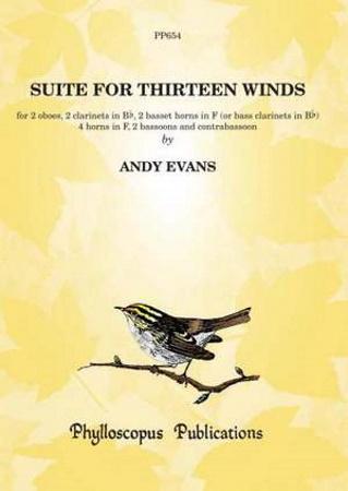 SUITE FOR THIRTEEN WINDS (score & parts)