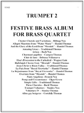 FESTIVE BRASS ALBUM 2nd Trumpet