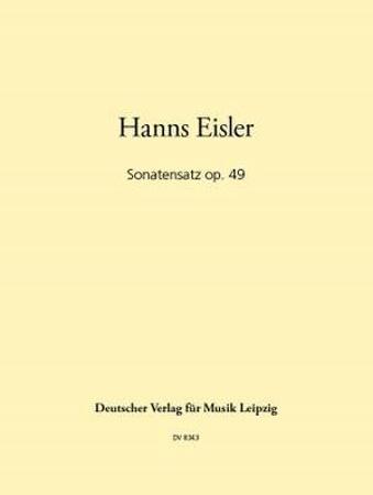 SONATENSATZ Op.49