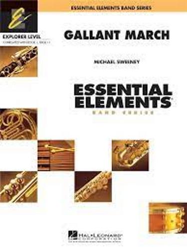 GALLANT MARCH (score & parts)