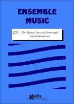 TWELVE DAYS OF CHRISTMAS (score & parts)