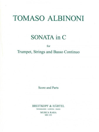 SONATA No.1 in C major (score & parts)