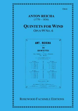 WIND QUINTET Op.99 No.6