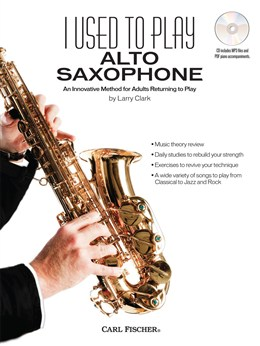 I USED TO PLAY ALTO SAXOPHONE + CD