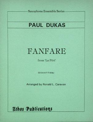 FANFARE La Peri score & parts