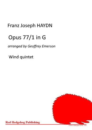 OPUS 77/1 in G