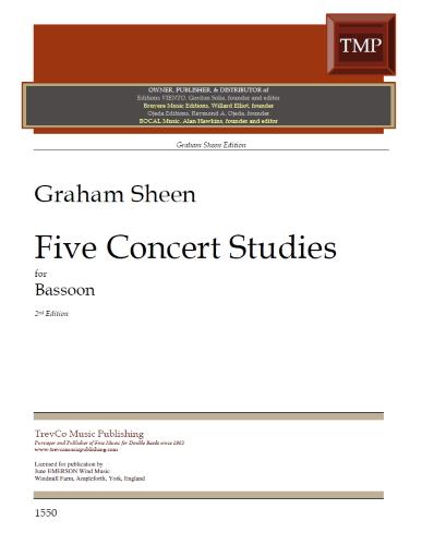 FIVE CONCERT STUDIES