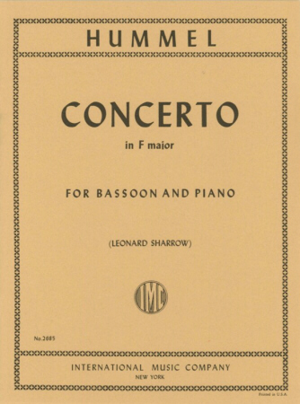 BASSOON CONCERTO in F major