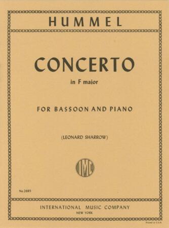 BASSOON CONCERTO in F major