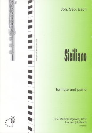 SICILIANO from Sonata No.2