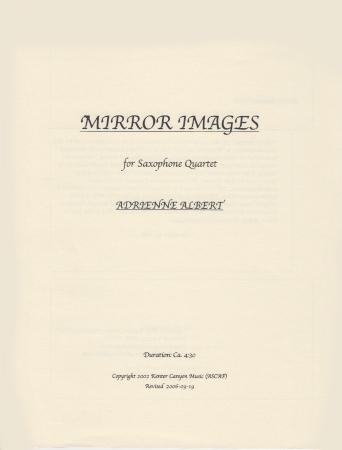 MIRROR IMAGES (score & parts)