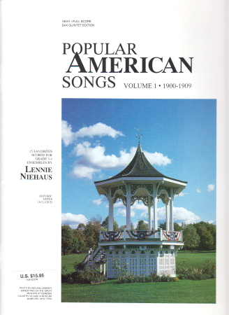 POPULAR AMERICAN SONGS Volume 1 Score