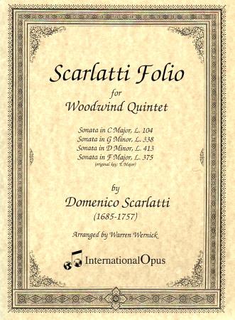 SCARLATTI FOLIO (score & parts)