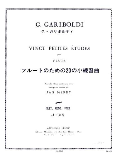 20 PETITES ETUDES Op.132