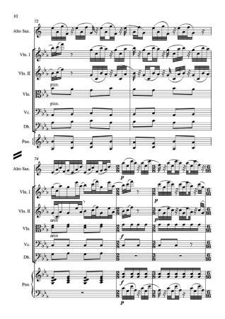TALLAHATCHIE CONCERTO (score & parts)
