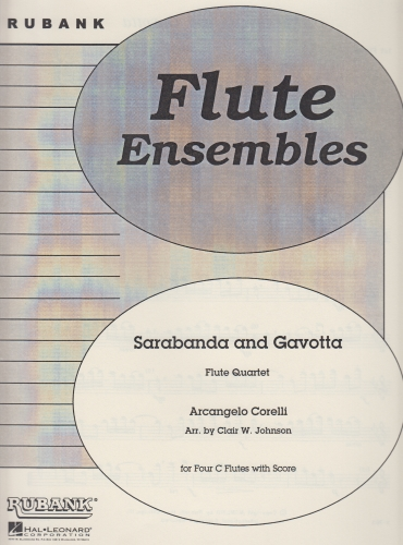 SARABANDA AND GAVOTTA (score & parts)