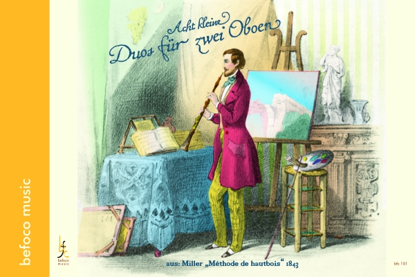 EIGHT LITTLE DUOS for Two Oboes