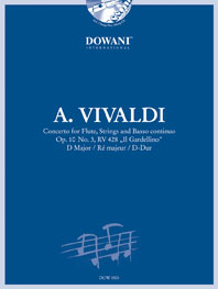 CONCERTO in D major Op.10 No.3 'Il Gardellino' + CD