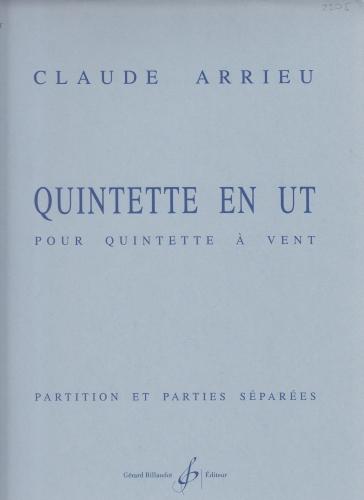 QUINTET in C major (score & parts)