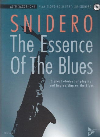 THE ESSENCE OF THE BLUES + CD Alto