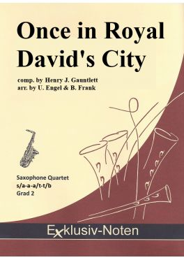 ONCE IN ROYAL DAVID'S CITY (score & parts)