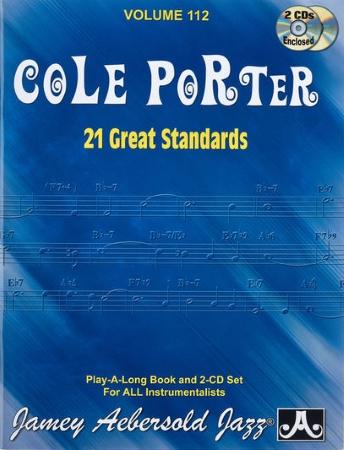 COLE PORTER 21 Great Standards Volume 112 + CD