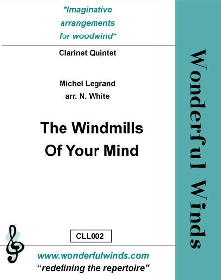 THE WINDMILLS OF YOUR MIND (score & parts)