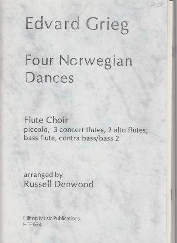 FOUR NORWEGIAN DANCES