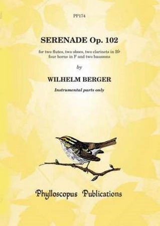 SERENADE in F major Op.102 Set of parts