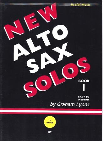 NEW ALTO SAX SOLOS Book 1 + CD