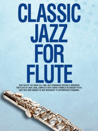 CLASSIC JAZZ FOR FLUTE with chord symbols