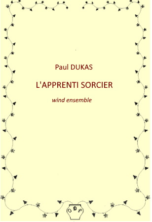 L'APPRENTI SORCIER (score & parts)