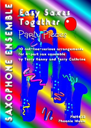 EASY SAXES TOGETHER: Party Pieces (score & parts)