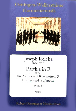 PARTHIA in F major (score & parts)
