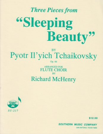 THREE PIECES from Sleeping Beauty Op.66 score & parts