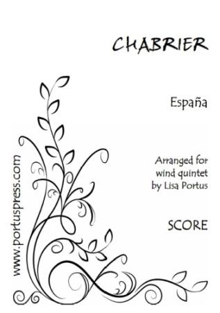 ESPANA (score & parts)